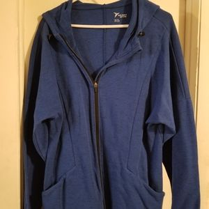Royal blue old navy active hooded jacket